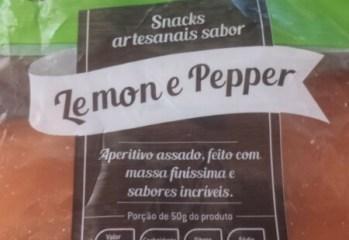 Crostitos Sabor Lemon e Pepper Fattile