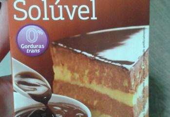 Chocolate em Pó Solúvel Dia
