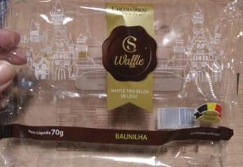 Waffle Tipo Belga de Liege Baunilha Cacau Show