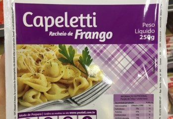 Capeletti Recheio de Frango Pavioli