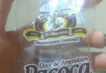 Doce de Amendoim Pacoca Di Marcos