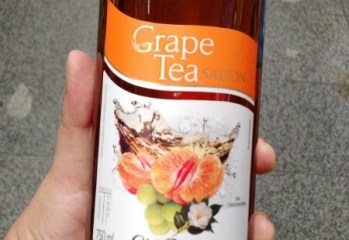 Grape Tea Chá Preto com Tangerina e Uva Moscato Salton