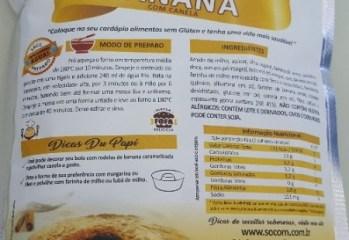 Mistura para Bolo de Banana com Canela Du Papi Socom