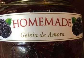 Geleia de Amora Homemade