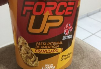 Pasta Integral de Amendoim Granulado Force Up