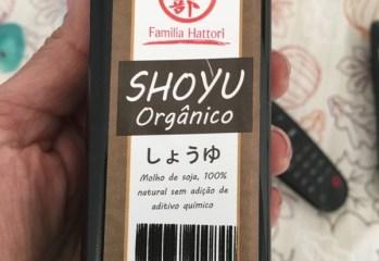 Molho de Soja Orgânico Família Hattori