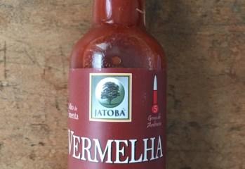Molho de Pimenta Vermelha Organico Jatoba
