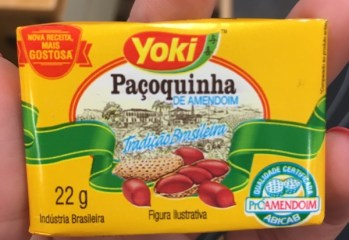 Paçoquinha de Amendoim Yoki