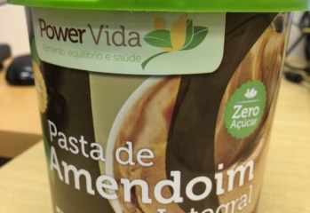 Pasta de Amendoim Integral Power Vida