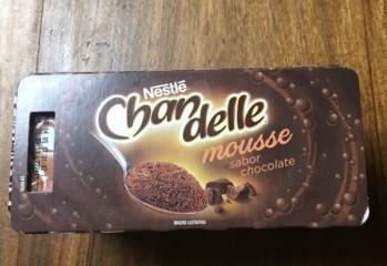 Chandelle Mousse Sabor Chocolate Nestlé