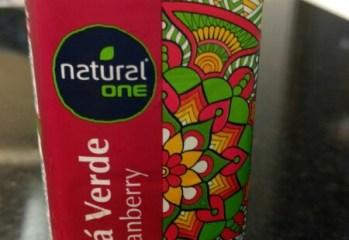 Chá Verde com Cranberry Natural One