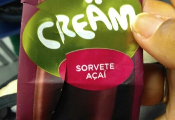 Sorvete Acai Cream