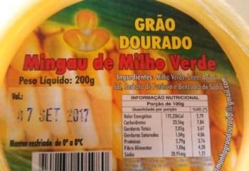 Mingau de Milho Verde Grao Dourado