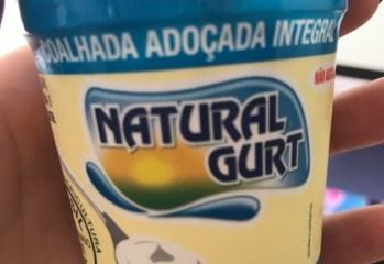 Coalhada Adoçada Integral Natural Gurt