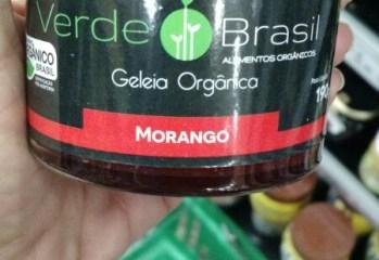 Geleia Organica Morango Verde Brasil