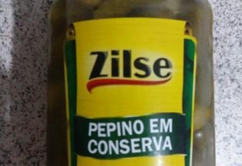 Pepino em Conserva Zilse
