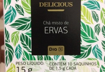 Chá Misto de Ervas Delicious Dia