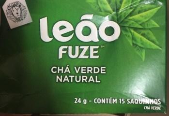Chá Verde Natural Leão Fuze