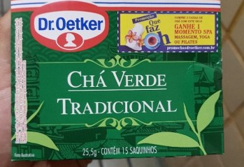 Chá Verde Tradicional Dr. Oetker