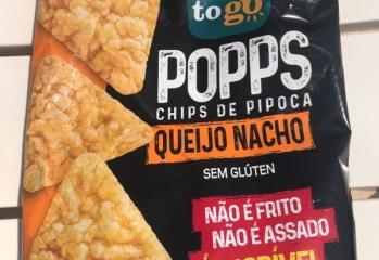 Popps Chips de Pipoca Queijo Nacho Roots To Go
