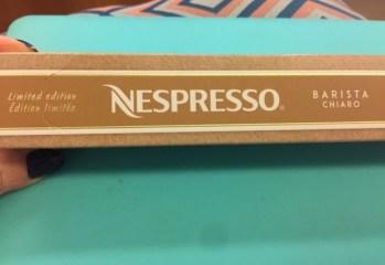 Cápsula de Café Torrado e Moído Barista Chirao Nespresso Nestlé