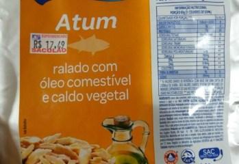 Atum Ralado com Óleo Comestível e Caldo Vegetal Gomes da Costa