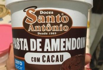 Pasta de Amendoim com Cacau Doces Santo Antônio