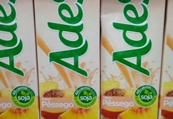 Bebida de Soja Sabor Pêssego Ades