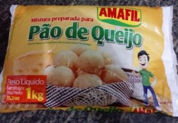 Mistura Preparada para Pão de Queijo Amafil