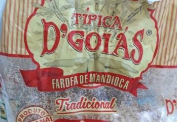 Farofa de Mandioca Tradicional Típica D'Goiás