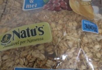 Granola Granatus Passas e Mel Natu's