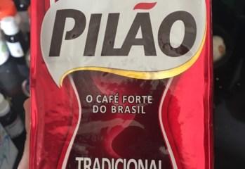 Café Torrado e Moído Tradicional Pilão