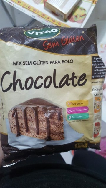 Mix Sem Glúten para Bolo Chocolate Vitao