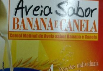 Aveia Sabor Banana e Canela Naturale