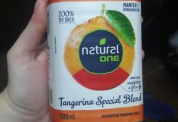 Suco Misto de Tangerina e Maçã Special Blend Natural One