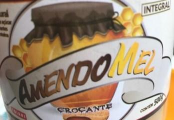 Pasta de Amendoim Crocante com Mel Amendomel Thiani