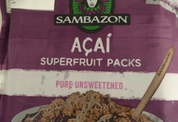 Açaí Superfruit Packs Sambazon