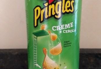 Batata Sabor Creme e Cebola Pringles