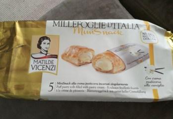 Folhado Recheado com Creme de Confeiteiro Matilde Vicenzi