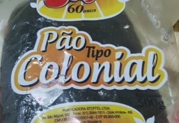 Pão Tipo Colonial Stoffel