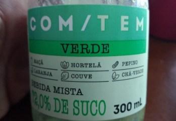Bebida Mista Verde COM:TEM Fruki