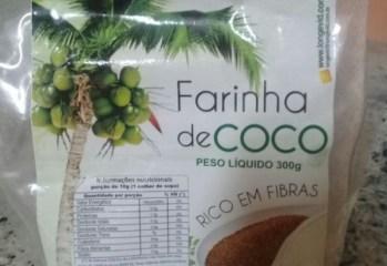 Farinha de Coco Longevid