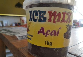 Açaí com Banana e Guaraná Ice Mix