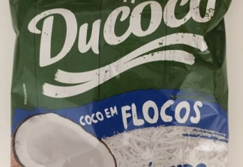Coco em Flocos Úmido Adoçado Ducoco