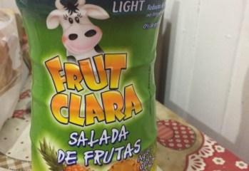 Bebida Láctea Salada de Frutas Frut Clara Light Santa Clara