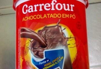 Achocolatado em Pó Carrefour