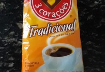 Café Torrado e Moído Tradicional 3 Corações