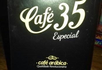 Café Arábica Torrado e Moído Café 35
