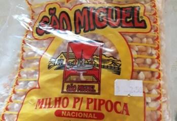 Milho para Pipoca Nacional São Miguel