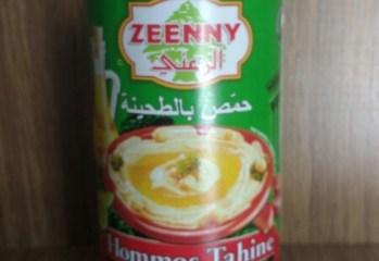 Pasta de Grão de Bico Hommos Tahine Zeenny
